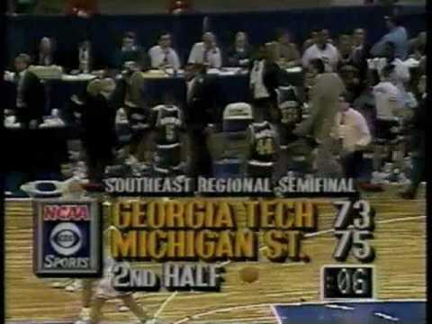Georgia Tech - Michigan State 1990 Basketball