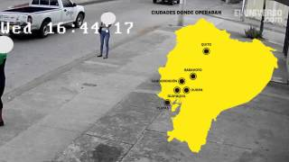 Asalto a mujer en el norte de Guayaquil es grabado por cámara de seguridad