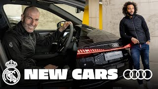 🚗 NEW Audi cars for Zidane, Ramos & Real Madrid team!
