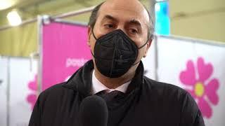 Nuovo hub vaccinale a Corato, le interviste al sindaco De Benedittis e all'assessore Lopalco