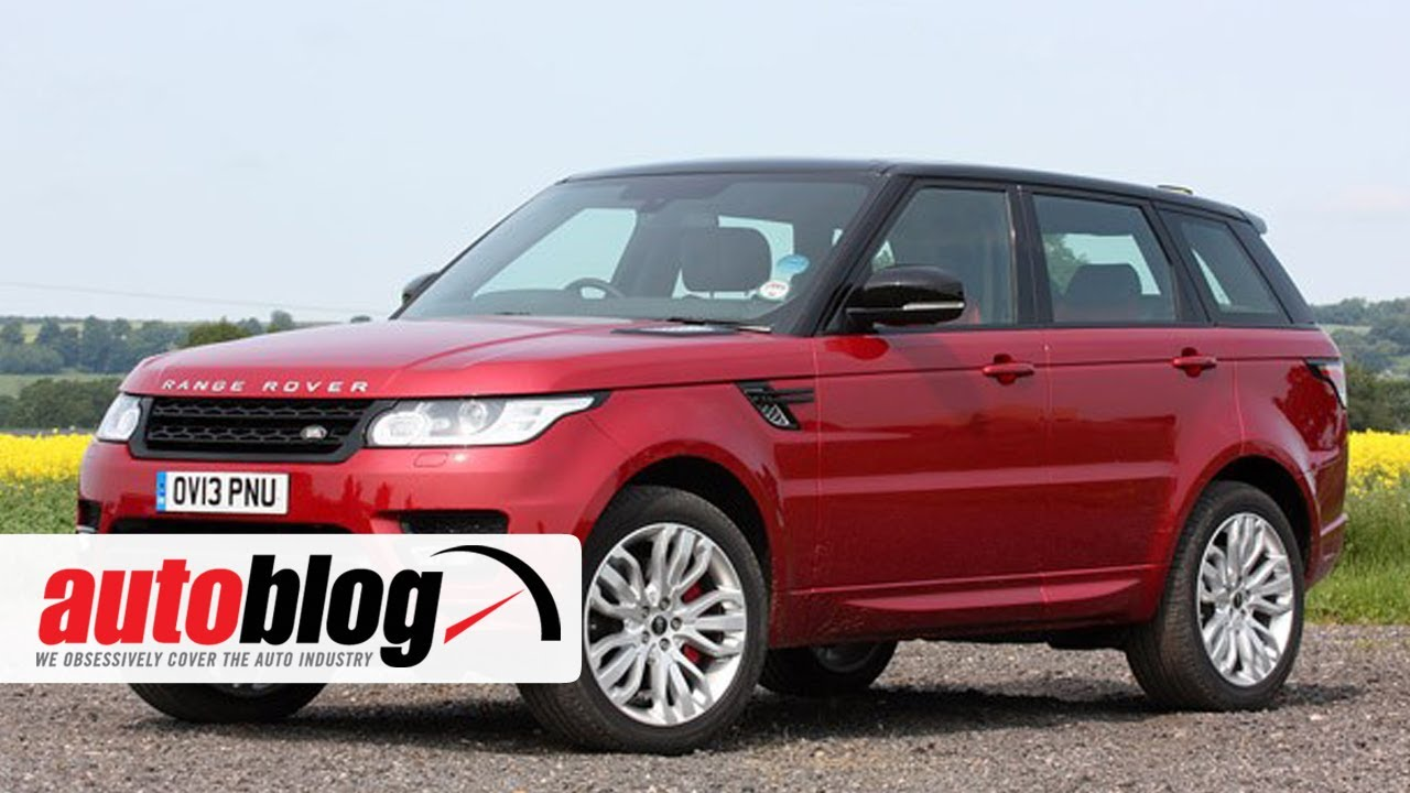 First Drive 2014 Land Rover Range Rover Sport  Autoblog  YouTube