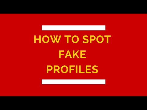 How To Spot Fake Profiles | online dating tips for men | pof secrets | tinder help