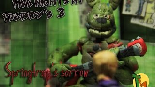 - Springtrap s sorrow animation FNAF song by Zalzar Rus sub
