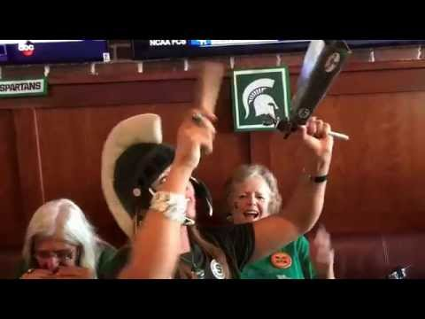 Michigan State Touchdown Cowbell Newport Beach