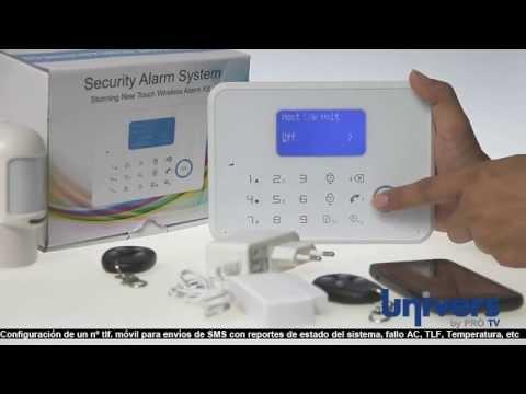 Alarma VIA RADIO UbyP G6  (GSM+PTSN) - Primeros pasos con la central G6