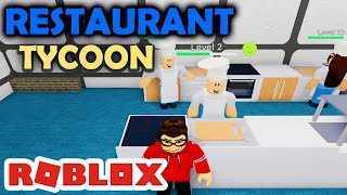 HIRING NEW EMPLOYEES-Restaurant Tycoon Roblox #03