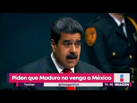 No quieren que Nicolás Maduro visite México | Noticias con Yuriria Sierra