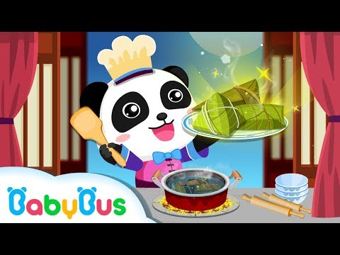 How To Make Chinese Recipes With Baby Panda Restaurant Asia | BabyBus Kids Games