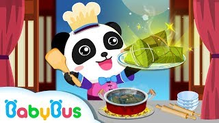 How To Make Chinese Recipes With Baby Panda Restaurant Asia  BabyBus Kids Games