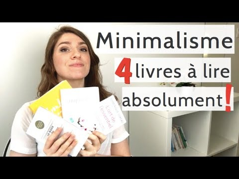 4 livres sur le minimalisme lire absolument youtube. Black Bedroom Furniture Sets. Home Design Ideas