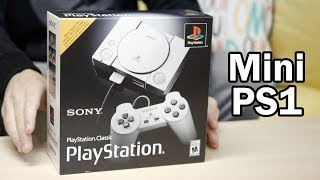 UNBOXING e DEMONSTRAÇÃO: PlayStation Classic - O Mini PS1