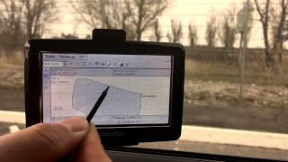 Определение расстояний по двум точкам. GPS ГеоМетр.