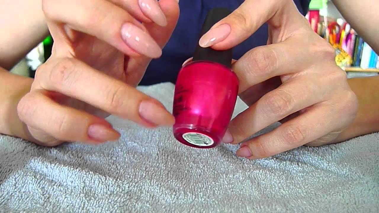 Bekend Je nagels lakken is meer dan nagellak erop smeren - manicure how  ED58