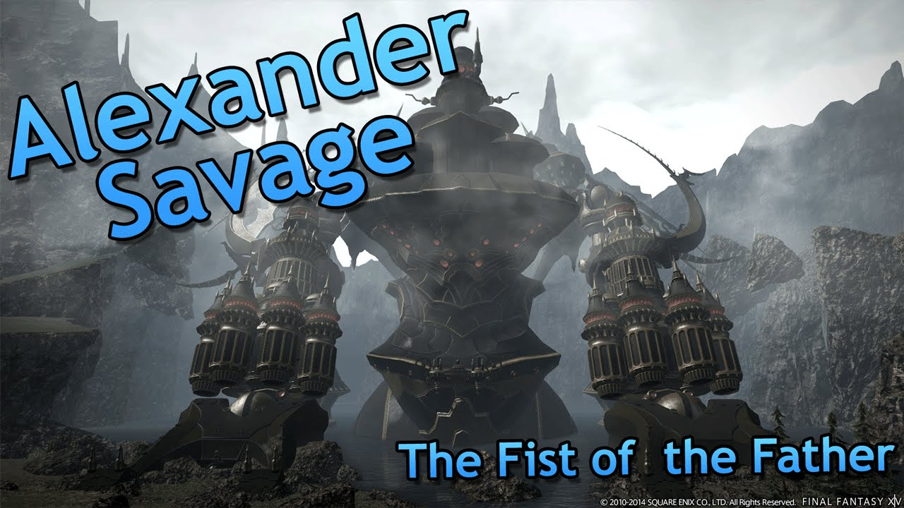 Repeat [FFXIV] Alexander - Fist of the Father (Savage) Dark Knight