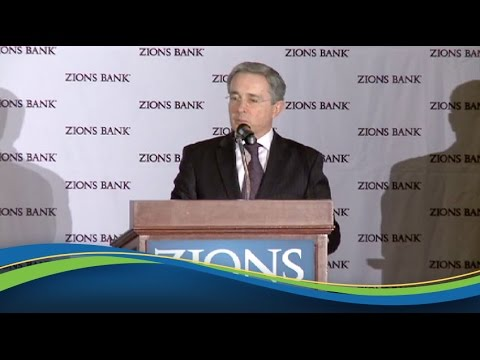 Zions Bank Trade and Business Conference: Álvaro Uribe