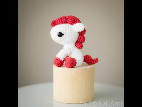 Amigurumi Horse Tutorial : Crochet horse amigurumi handmade toy animal child stuffy crochet