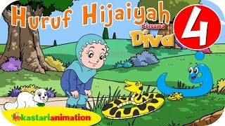 Huruf Hijaiyah bersama Diva (full version) | part 4 | - Kastari Animation Official