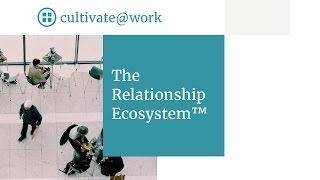 "Morag Barrett, keynote speaker shares ""The Relationship Ecosystem TM"""