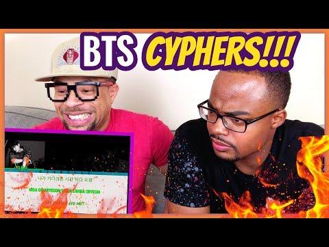 BTS RAP LINE Is OUTRAGEOUS! // BTS 'CYPHER PT. 1-4' REACTION!!
