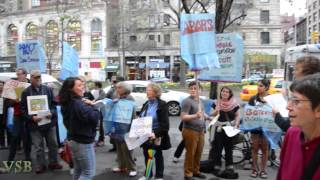 Part 1-Anti-Israel Protest outside Zabars-NYC