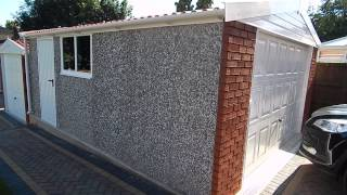 White Rose Buildings Royale Concrete Garage And Landscaping