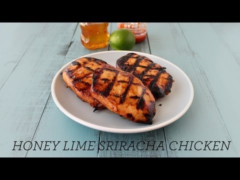 Smoked Drumsticks with Sriracha Honey Lime Sauce