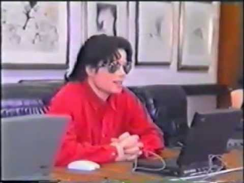 Michael Jackson webchat in 1995