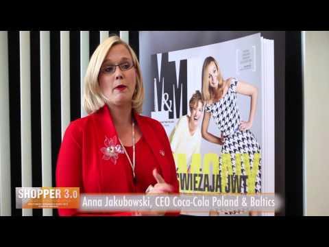 Konferencja - Shopper 3.0 - Wywiad - Anna Jakubowski  CEO Coca-Cola Poland & Baltics