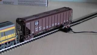 Proto 2000 Atsf Santa Fe Ps2-cd High Side Hopper Wagon (ho Scale) Review Hd