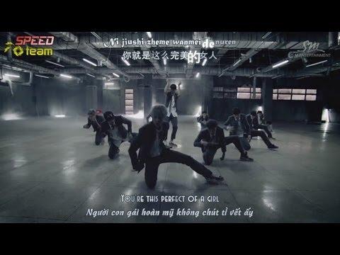 [Vietsub + Engsub + Kara] EXO - Growl (Chinese Ver.)
