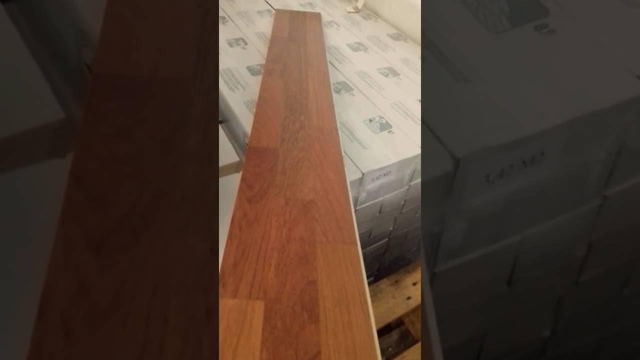 Tarima flotante de madera jatoba 3 lamas oferta youtube - Tarima flotante de madera ...
