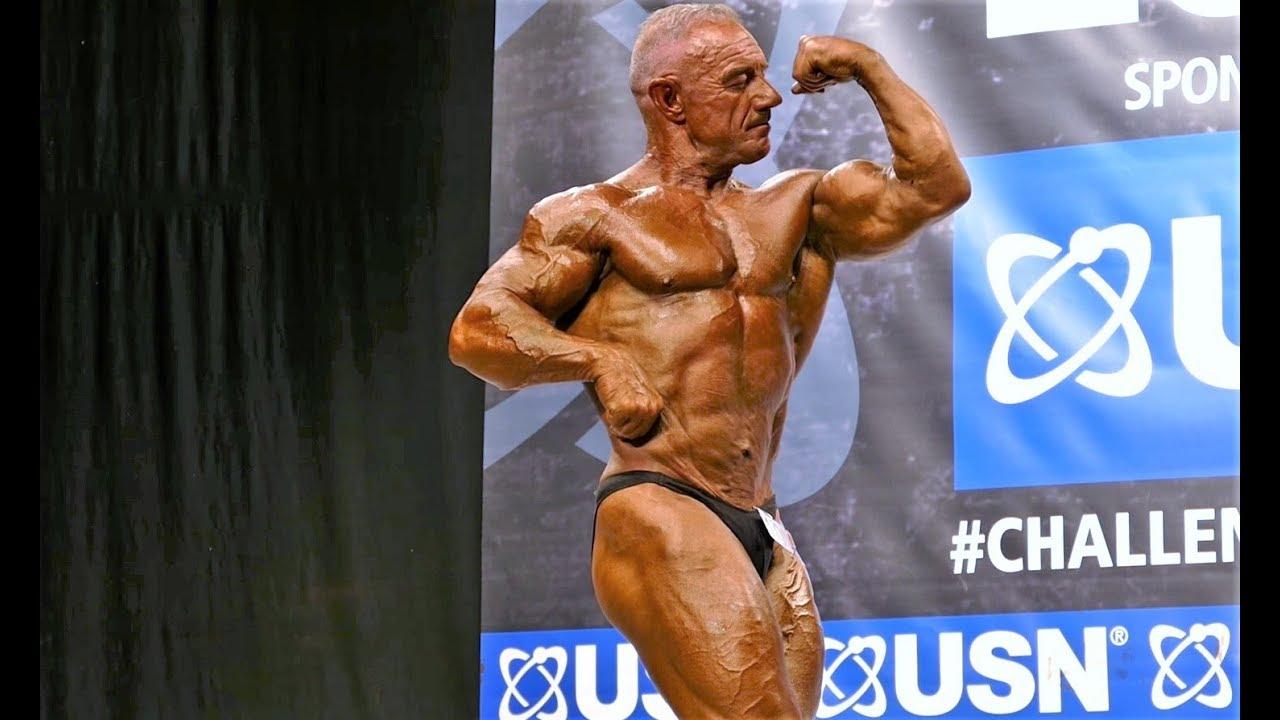 Derek Jones - Competitor No 10 - Masters Over 50 - NABBA