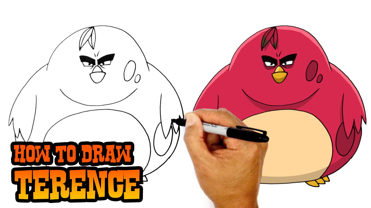 Drawing Angry Birds Movie: Angry Birds Movie - YouTube