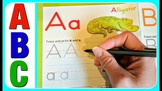 Learn ABC Alphabet English Letters!  ABC Phonics Writing Video For Kindergarten, Toddlers, Babies, K