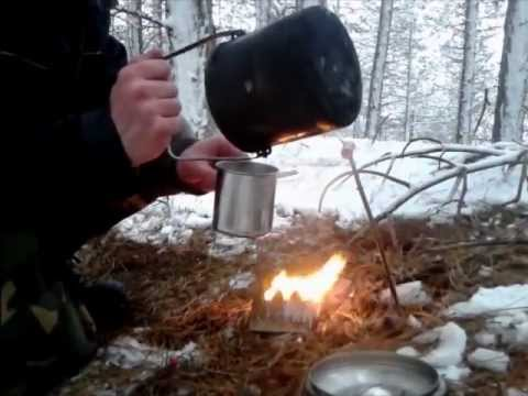 Bushcraft: Minimal Kit Winter Survival