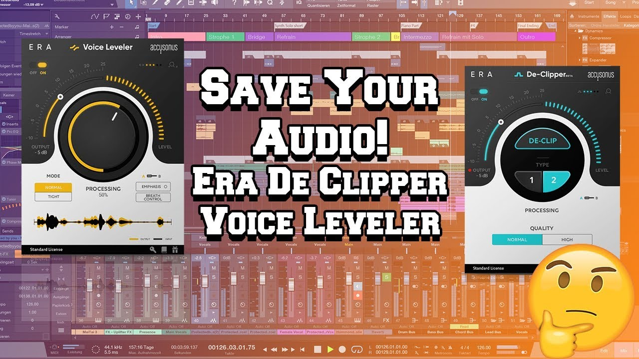 ERA De clipper and Voice Leveler plugin Review | Saving your vocals?