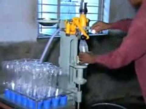 Small Production Aerated Water Machinery Youtube