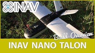 ZOHD Nano Talon iNav Conversion + V-Tail Mod + FPV Build Overview