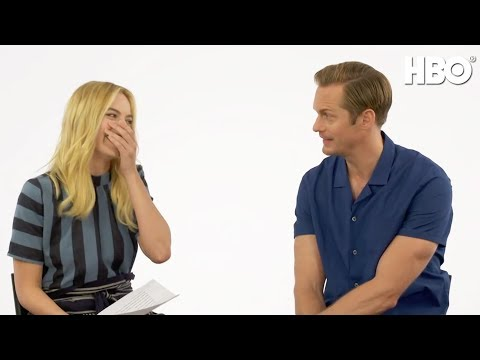This or That with Margot Robbie and Alexander Skarsgard | The Legend of Tarzan (HBO)