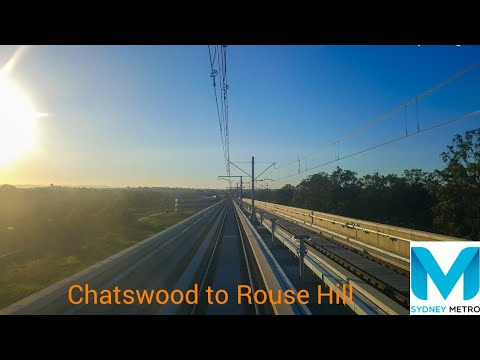 Sydney Metro North West | Chatswood To Rouse Hill