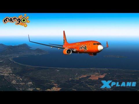 X Plane 11 | Mango 737-800 | Cape Town - Durban