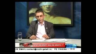 0805.2013 Avocat Teodorescu Nicusor invitat la VOX TV GALATI-ROMANIA STAT IN DREPTI-INEXISTENTA SECT