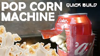 How To Make a Mini Popcorn Machine - Quick Build #5(Facebook: http://goo.gl/ZzRoKM Instagram: http://goo.gl/b4W1ft Quick Build Playlist: https://goo.gl/9hd31u Learn how to make a mini popcorn machine for cheap., 2016-06-12T21:51:50.000Z)