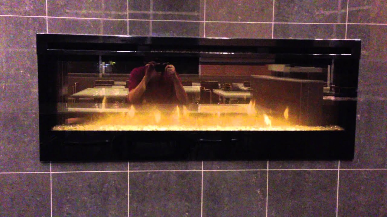 fake fireplace youtube