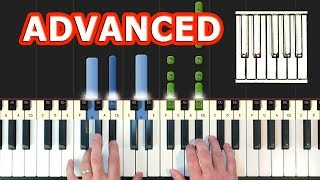 The Chainsmokers Coldplay Something Just Like This - Piano Tutorial Easy Synthesia.mp3