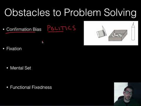 AP Psychology - Cognition - Part 1 - Thinking & Problems