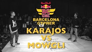 Karajos VS Mowgli - SemiFinal - Red Bull BC ONE Barcelona Cypher 2015