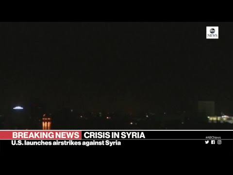 President Trump orders airstrikes against Syria    ABC News Special Report
