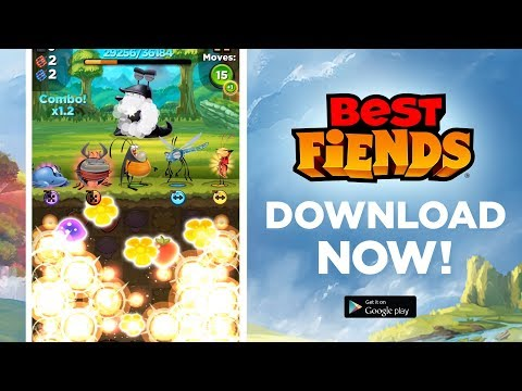 ApkMod1.Com Best Fiends – Puzzle Adventure v5.9.1 + MOD (Mod Money) download free Android Casual Game