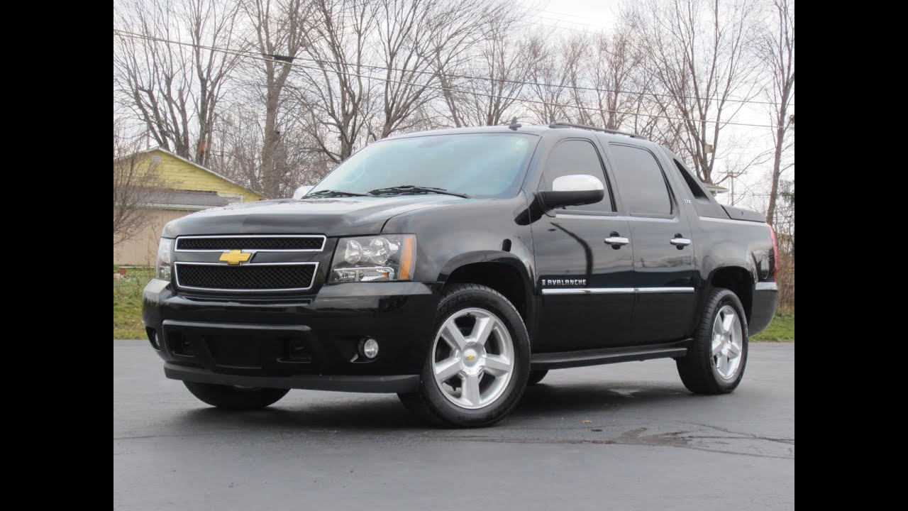 Chevy Avalanche 2009 2009 Chevy Avalanche LTZ 4X4 SOLD!!! - YouTube
